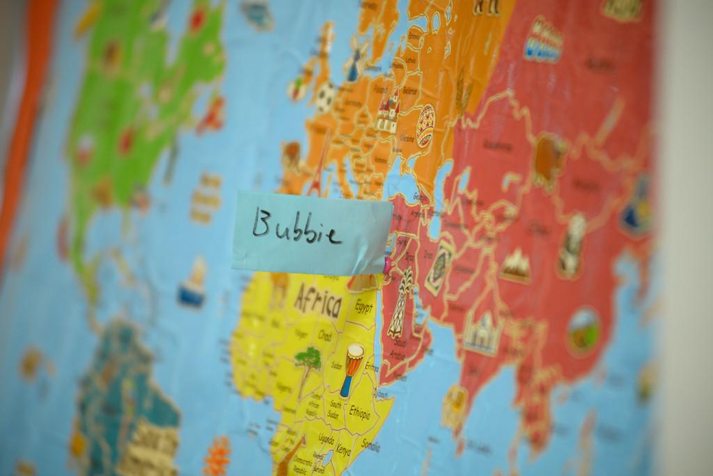 Around the World with Bubbie