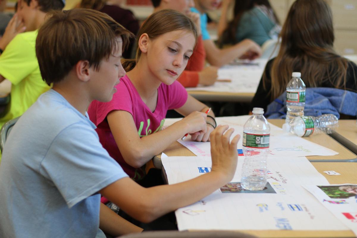 Photo courtesy of JCDS- Boston's Jewish Community Day School