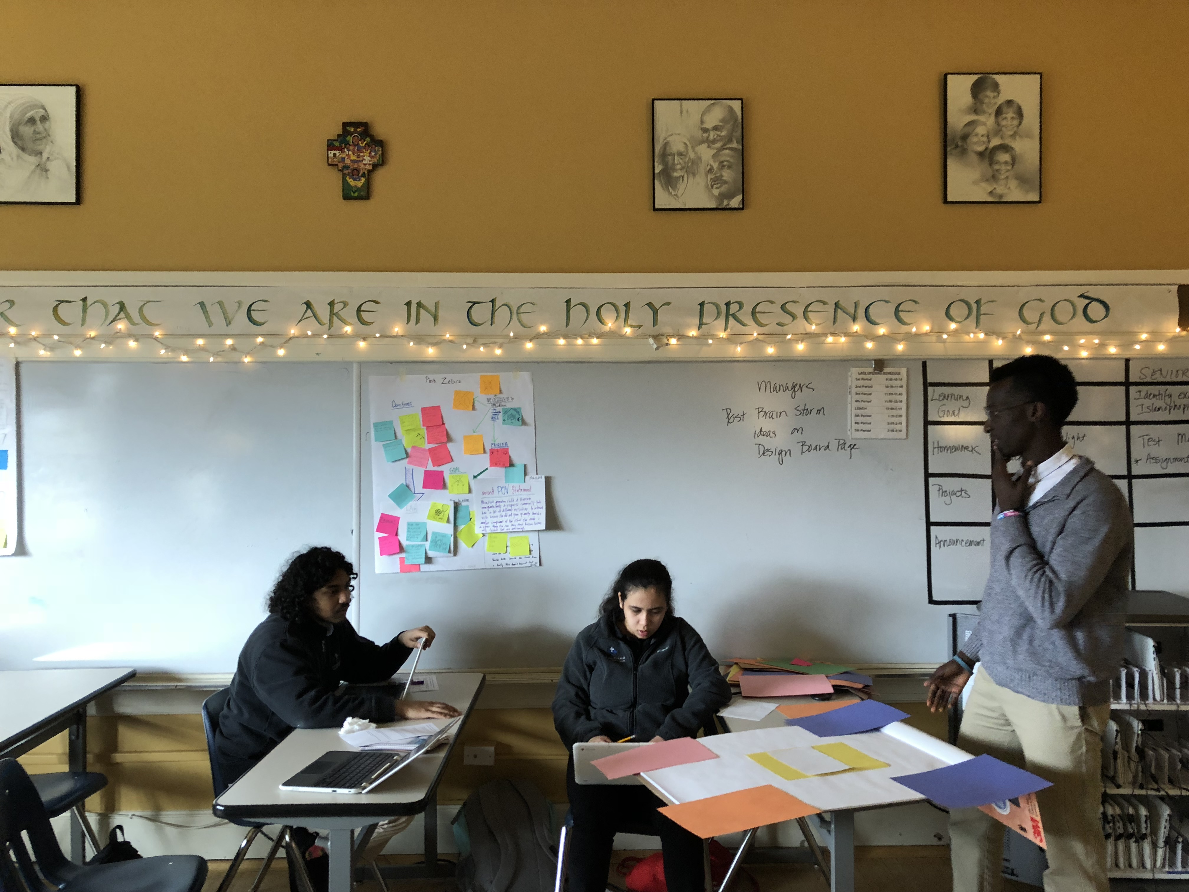 Photo courtesy of De La Salle North Catholic High School in Portland, Oregon