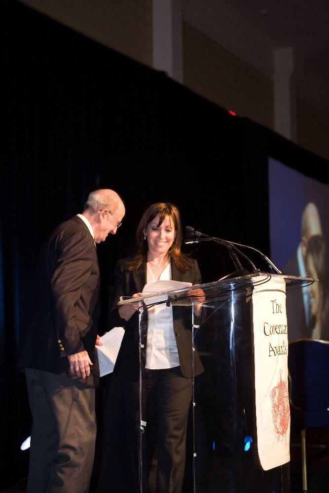 Covenant Foundation dinner awards 110809