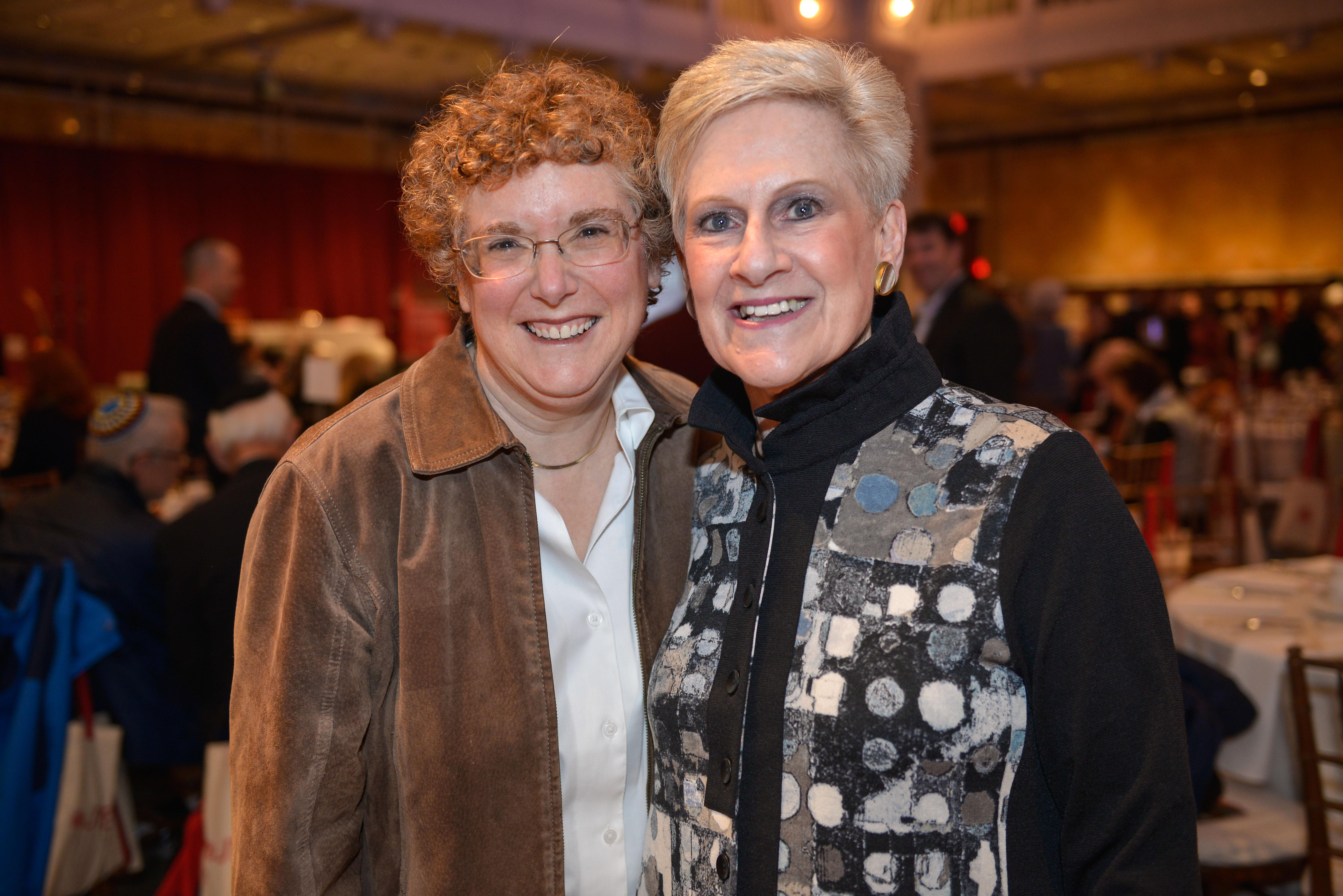 From left: Dr. Susie Tanchel and Devra Lasden.