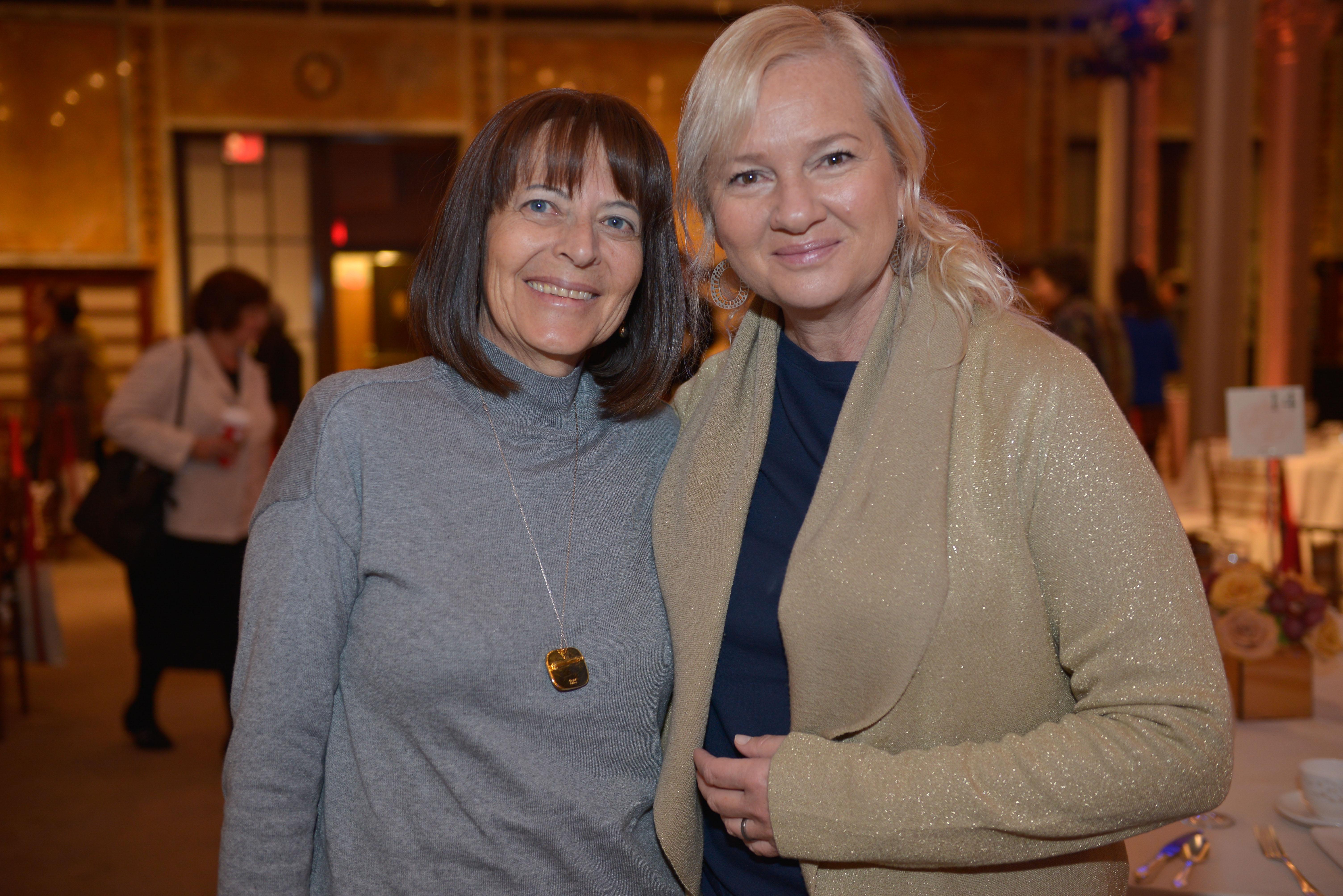 From left: 2015 Covenant Award recipient Sandra Lilienthal and 2012 Covenant Award recipient Karina Zilberman.