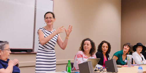 The Art of Learning: Two Minutes of Torah with Rabbi Elana Kanter
