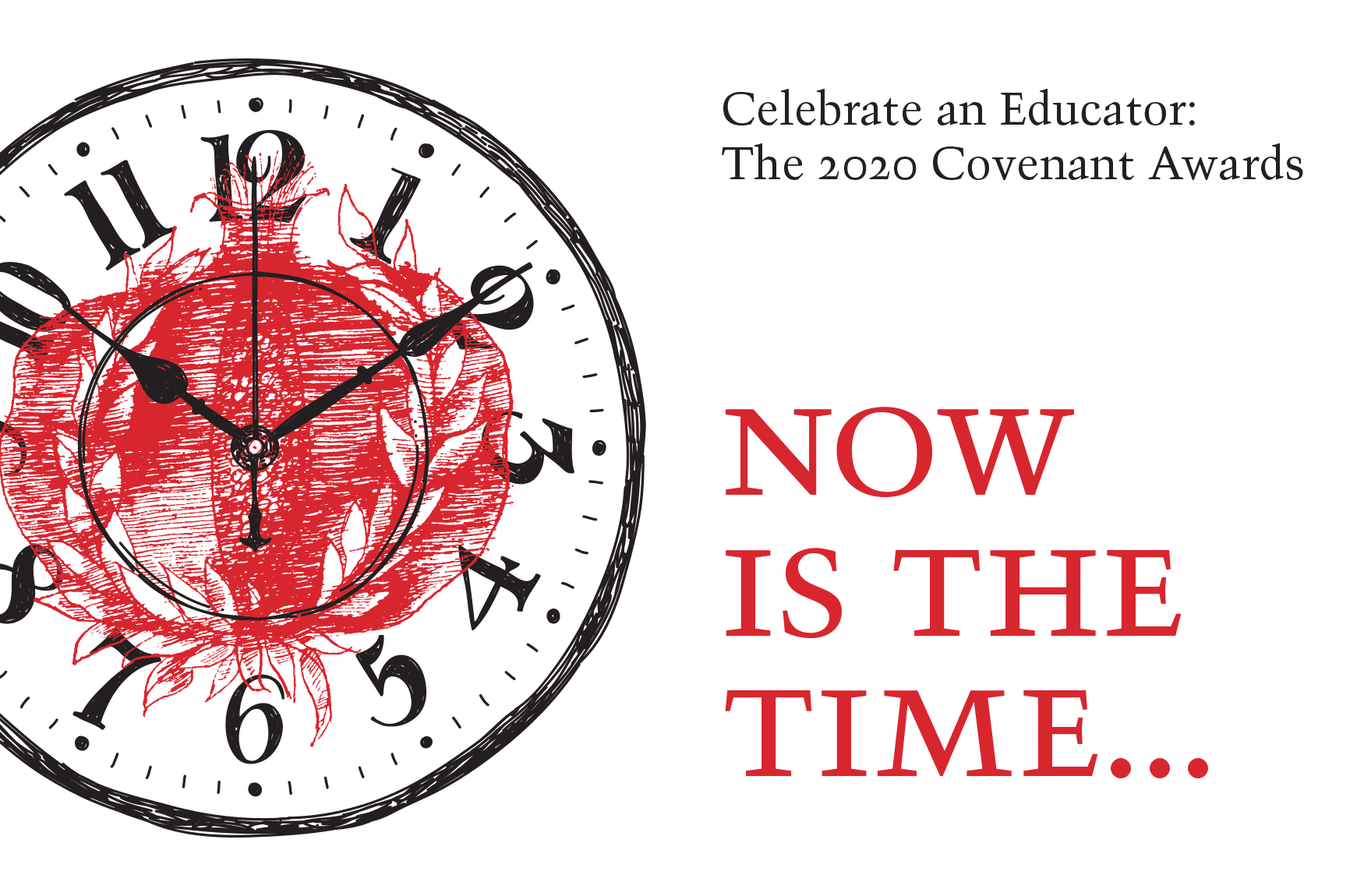 Now is the Time: The Nominations Process for the 2020 Covenant Awards is Open