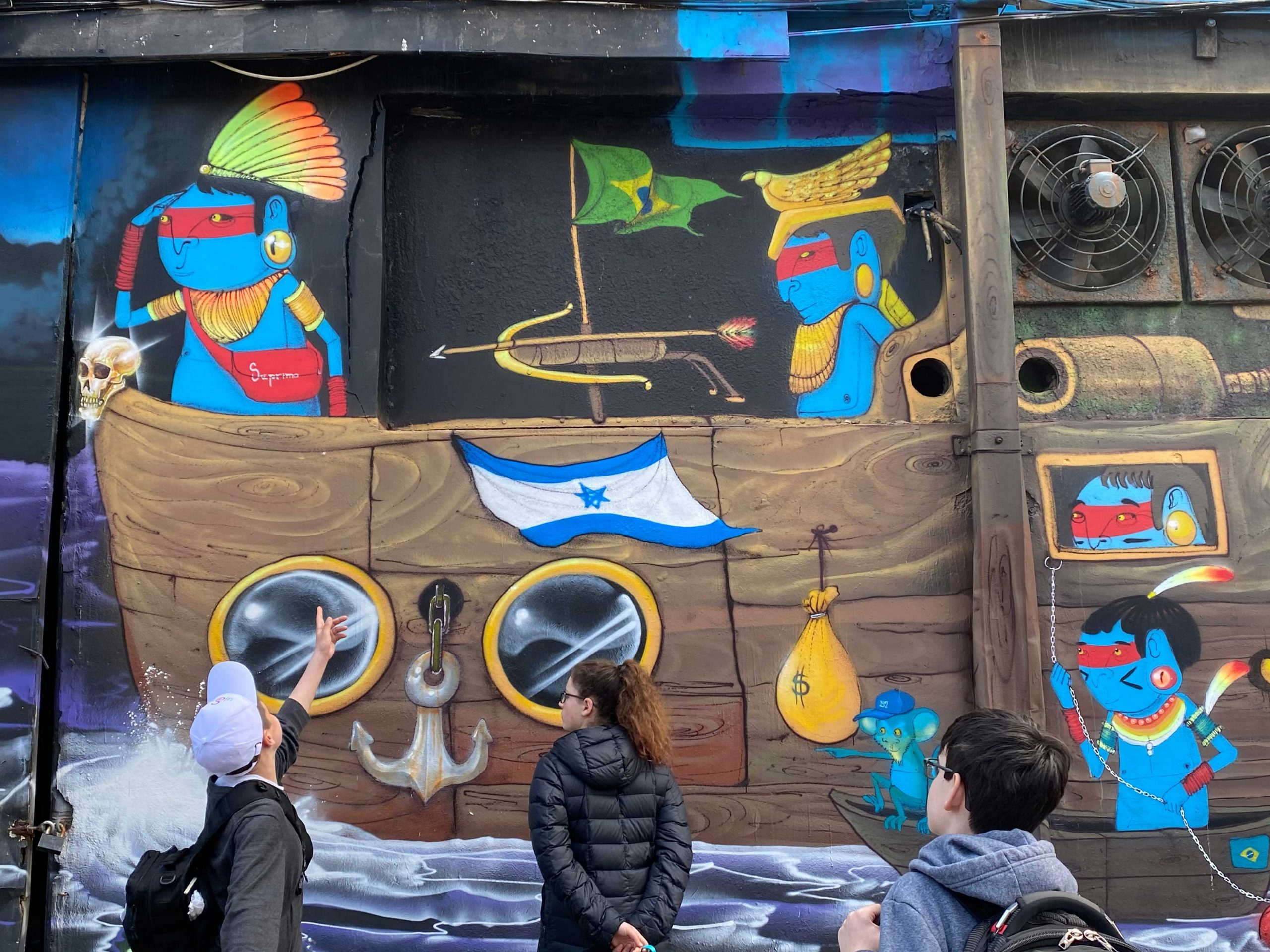 Using Art to Understand and Appreciate Israel's Complexities, at Brandeis Marin
