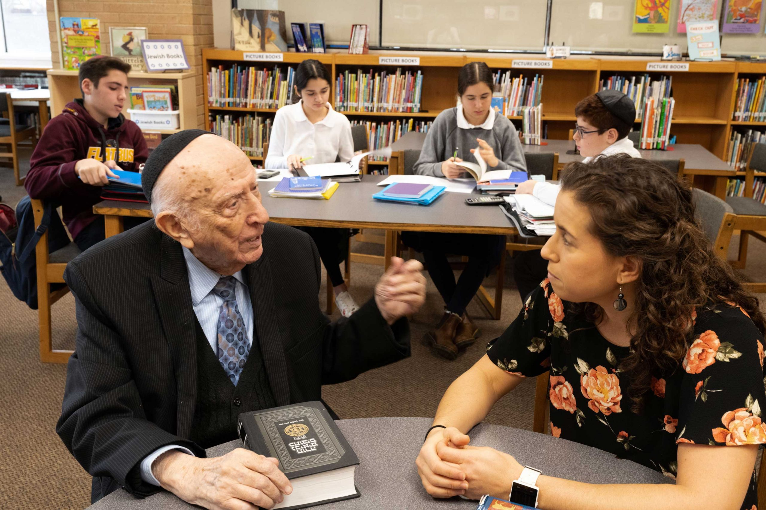 Be Committed to Inspiring Your Students: Rabbi David Eliach's Legacy of Mentorship